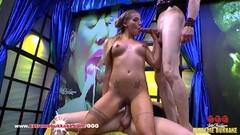 Hot Silvia Dellai loves anal gangbang Extremebukkake Thumb