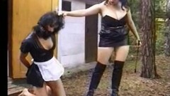 Hot Kinky Mean Girls From Europe Punish Her Friend Badly Thumb