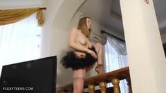 Kinky Naked splits and erotic gymnastics by Sofya Belaya Thumb