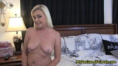 Masturbation Porno Show With Kinky Blonde Hooker Thumb