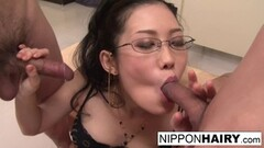 Naughty Student teacher gets gangbanged in the classroom Thumb