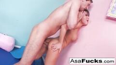 Hot Asa Akira's Hardcore Anal Stretching Thumb