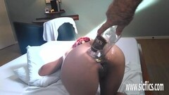 Intense Extreme anal fisting and bottle insertions Thumb