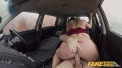 Fake Driving School Sexy teacher creampied Thumb