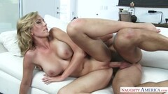 Betty Bang SQUIRTS while fucked with a strap-on by Kandii Kiss Thumb