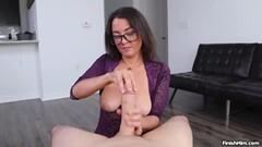 Hot Milf Harper Wright Loves Milking Huge Cocks Thumb