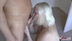 Mature Lady Lacey Starr Sucking Hard Cock Thumb