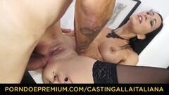 CASTING ALLA ITALIANA - Dirty newbie anal banging Thumb