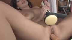 Lola Lynn Rides The Dildo Chair Then Sucks Off a Cock Thumb