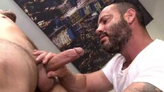 Naughty Injured Jock Dicks Hot Daddy Masseur On Massage Table Thumb