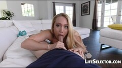 Sexy AJ Applegate loves get cum on her asshole Thumb