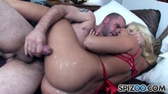 Cum Craving Britney Amber loves some big fat cock in her sweet ass Thumb