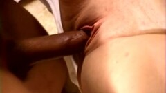 DP Threeway For Screaming Brunette Swinger MILF Wife Thumb