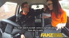 Fake Driving School Teen gets Creampied Thumb
