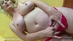 Big Tits Granny Black Cock Cumshot On Tits After BJ Thumb