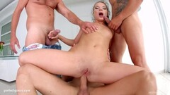 Girl Rode Him Too Hard And Got A Vaginal Creampie Thumb