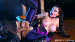 Aletta Ocean takes on massive monster cock in her minge hole Thumb