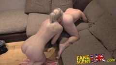 Dirty agent gives a babe anal creampie Thumb