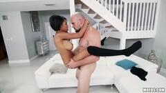 Beautiful ebony Brittany White loves massive cock Thumb