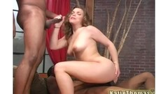 Young wife striptease and facial Thumb
