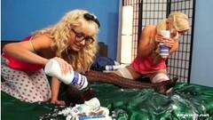 Krystal & Dorothy Black Love Big Tits & Wet Pussy Thumb