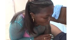 African Stripper Samantha Gets Creampied Thumb