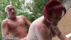Two hot MILFS and an Asian chick take care of three studs. (Clip) Thumb