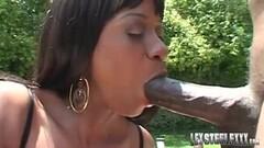 Kinky BBC Lex Steele Facials Busty Hottie Kaylani Cream! Thumb