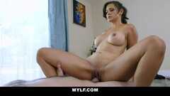 Busty Milf Penny Barber Needs Assistance With Her Flexibility Thumb