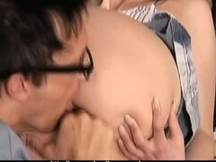Nana Ogura footjob and handjob Thumb