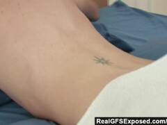 Glamorous clothed fuck and blowjob threesome Thumb