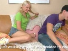 Blonde Karoll likes deep insertion Thumb