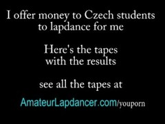 Super wild lapdance by czech amateur Thumb