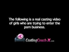 CastingCouch-X Amateur Blonde Audition Tape Thumb