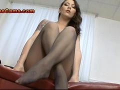 Big Tits Pantyhose Foot Fetish Thumb