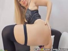 Ts Khloe Kay anal toyed by Isabella Nice Thumb