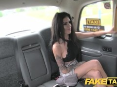 Fake Taxi Cheating brunette takes big cock in her tight ass Thumb