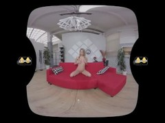 Virtualpee - Pussy pissing in virtual reality porn with Claudia Macc Thumb