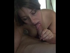 Horny COLLEGE slut gives AMAZING head Thumb