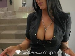 PUREMATURE Busty MILF Real Estate agent POUNDED Thumb