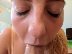 DeNata - Soppy Spit Blowjob POV Thumb