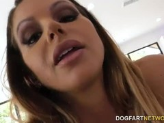 Brooklyn Chase BBC Anal Sex With Mandingo Thumb
