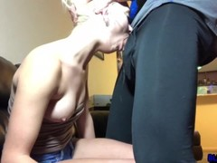 Petite Blonde Chloe Temple Rough Punishment Face Fuck & Hard Pussy Pounding Thumb