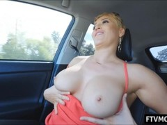 blonde milf in public Thumb