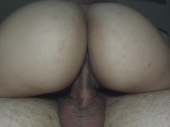 Accidental Creampie Closeup (He is embarrassed but she loved it) Thumb