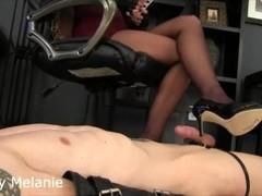 Intense pantyhose teasing Thumb