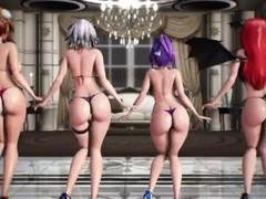 TOUHOU MMD KOUMAKAN GHOST DANCE - OKAZURAND.NET Thumb