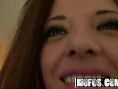 MOFOS - Amateur Teens Evilyn Fierce, Kimber Kay Sharing one lucky cock Thumb