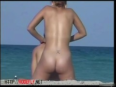 Sexy naked babes on beach candid youth video Thumb