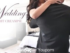 CUM4K Wedding Night Multiple OOZING creampies Thumb